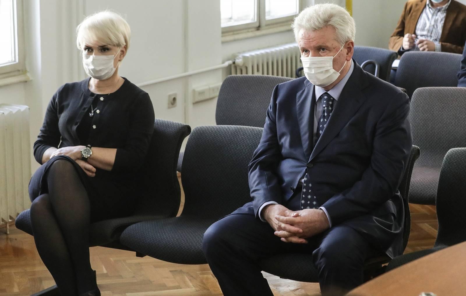 Zagreb: Završne riječi u predmetu mali Agrokor, nazočili Piruška Canjuga i Ivica Todorić