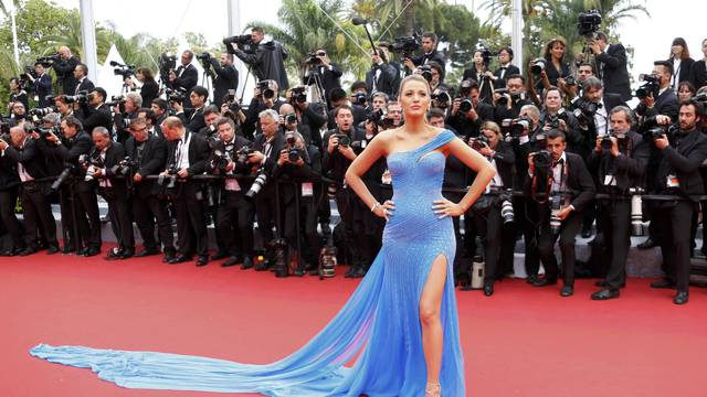 "Actress Blake Lively arrives for the screening of the film ""The BFG"" (Le Bon Gros Geant) out of competition at the 69th Cannes Film Festival in Cannes"