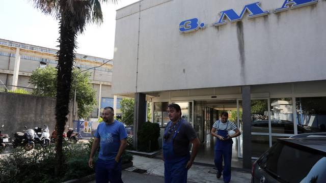 Rijeka: Izjave članova štrajkačkog odbora pred brodogradilištem 3. maj