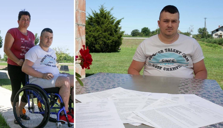 Nakon skoka u Dunav ostao je nepokretan: 'Samo želim da mi sin opet hoda, trebamo pomoć'