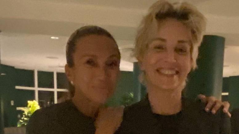 Iva Majoli u ekstazi: Upoznala i 'užicala' fotku sa Sharon Stone