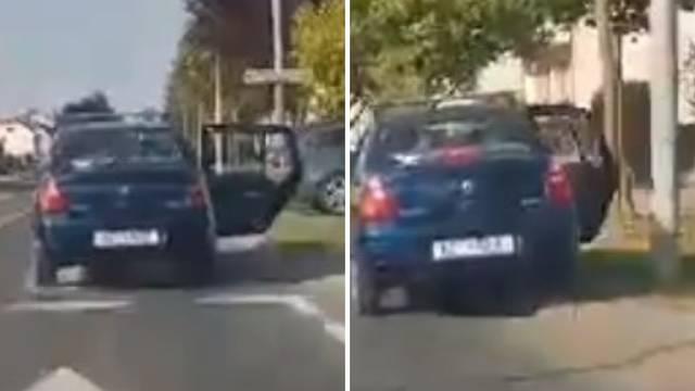 Video iz Koprivnice: Automatsko zatvaranje vrata - stupom! Pa ovakvu opremu nema nitko