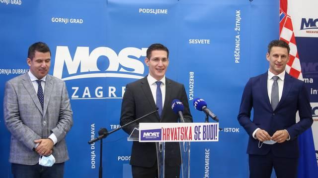 Most predstavio povjerenika za grad Zagreb