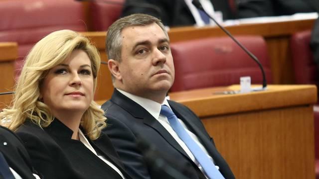 Kolinda: 'To je njegov izbor, od Radeljića nismo tražili ostavku'