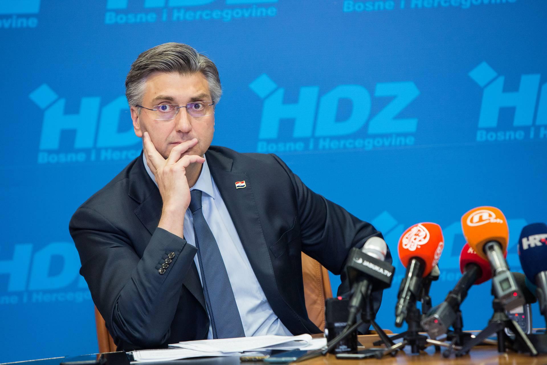 Kod Mostara: Plenković položio temeljni kamen za Podravku...