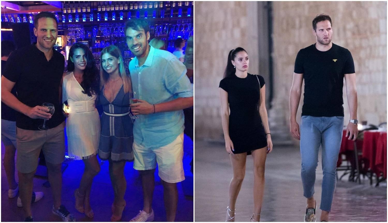 Rijetko u javnosti: Bogdanović zagrljen s djevojkom Zrinkom