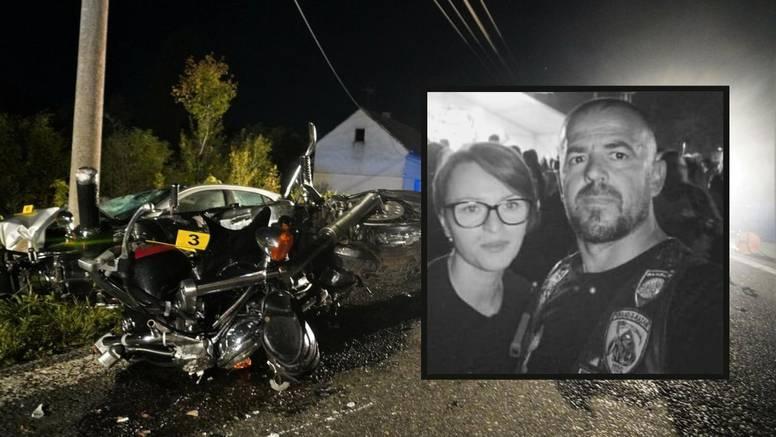 'Prijatelji, neka su vam lake nebeske ceste': Motoristi se opraštaju od preminulog para