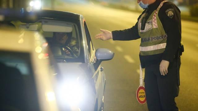 Zagreb: Prometna policija kontrolira vozače povodom Martinja