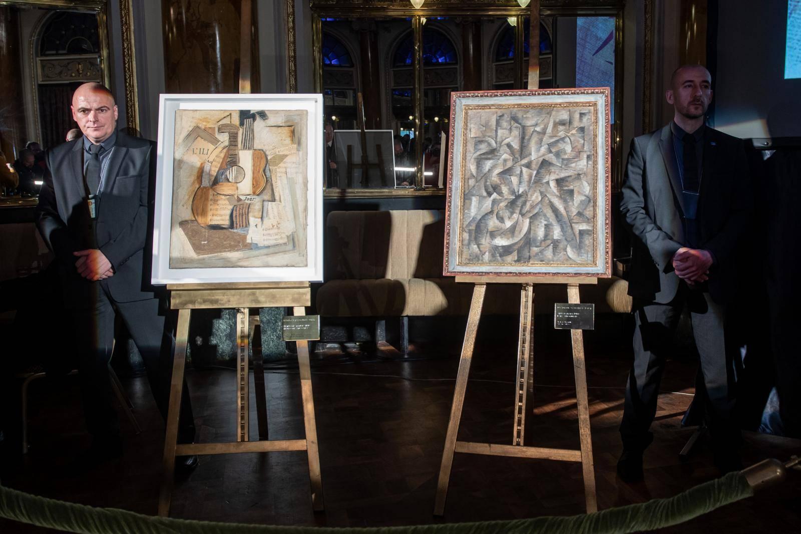 Vlasnik Hrvat: Predstavili dva djela, autor je Pablo Picasso?