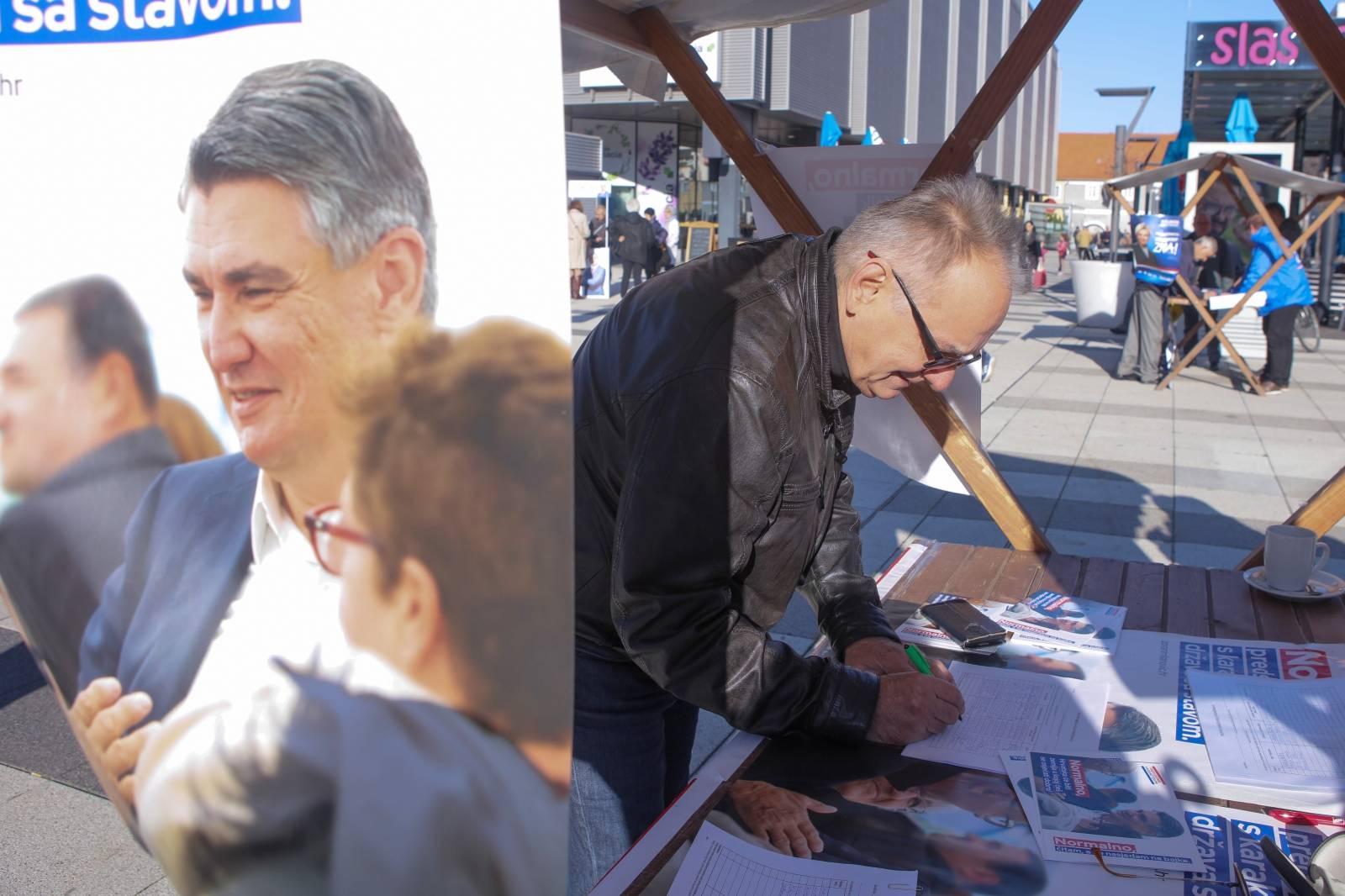 Osijek: Branimir Glavaš svojim potpisom dao podršku Zoranu Milanoviću