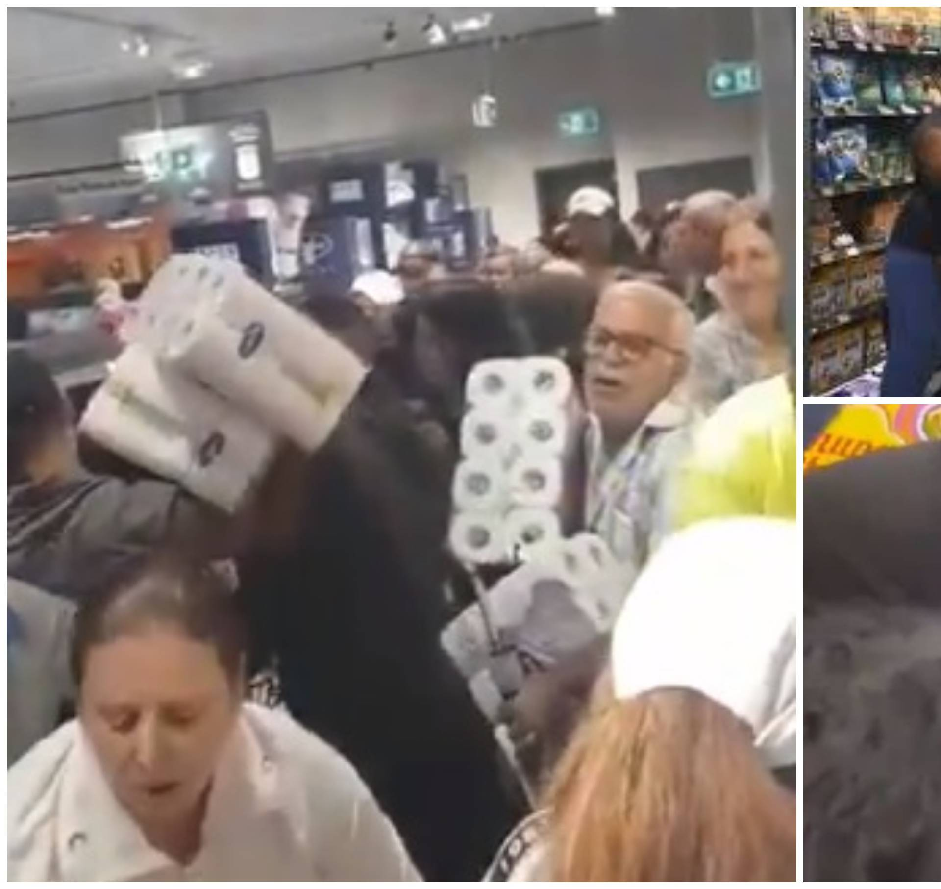 Stampedo paničnih kupaca: 'Po mojoj curici su doslovno hodali'