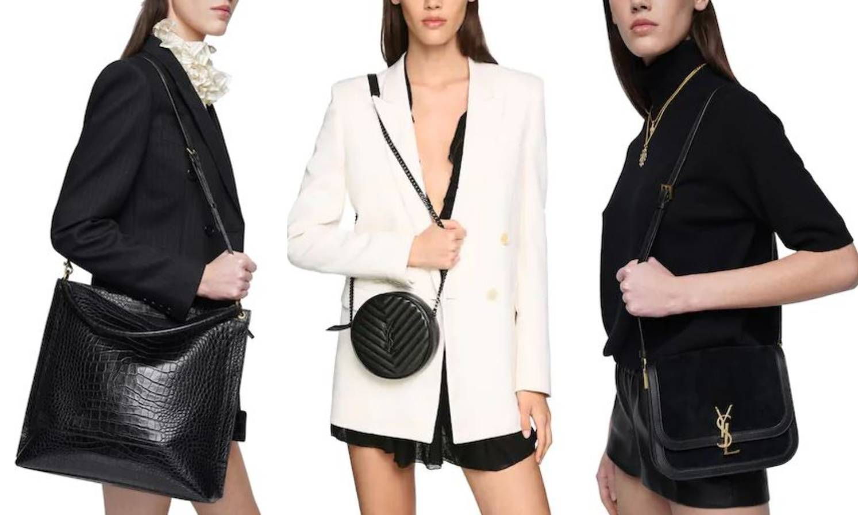 Crne i chic: Saint Laurent torbice donose luksuzni minimalizam