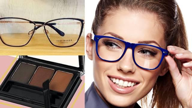 Make-up iza dioptrijskih okvira: Četiri pravila za lijepi izgled