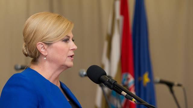 Ilok: Predsjednica Grabar-Kitarović na svečanoj sjednici povodom Dana županije