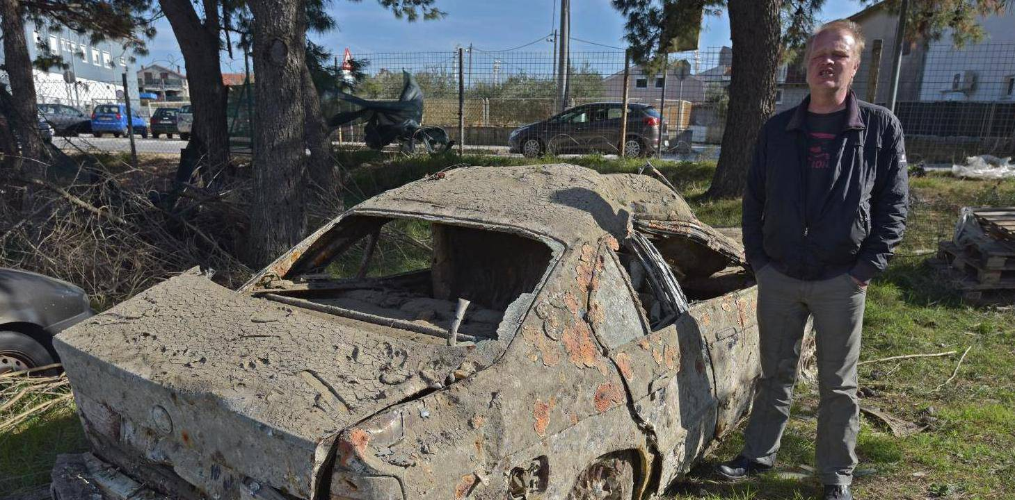 Klaudiju izronili BMW iz mora: Ukrali su mi ga prije 10 godina