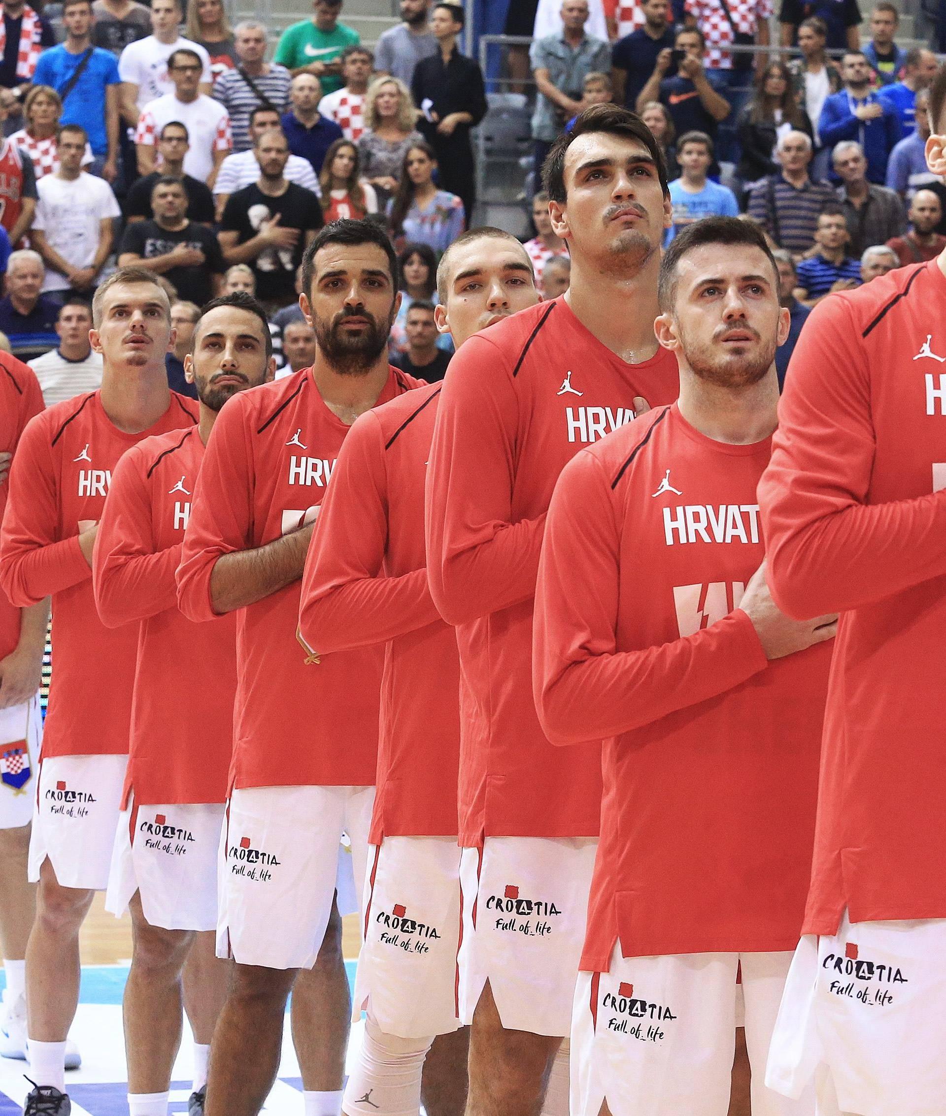 Hrvatski košarkaši za  EURO na Tursku, Nizozemsku i Švedsku
