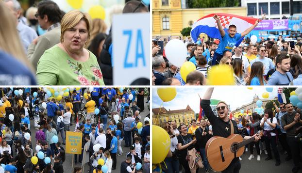 FOTO 'Hod za život': Inicijativi se pridružilo mnoštvo mladih, ali i neki od političara
