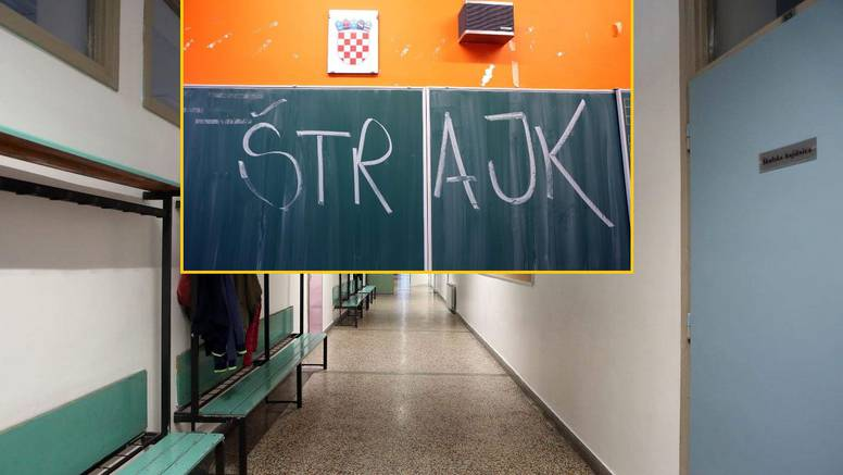 Do ispunjenja zahtjeva: Štrajk u svim školama svakog dana