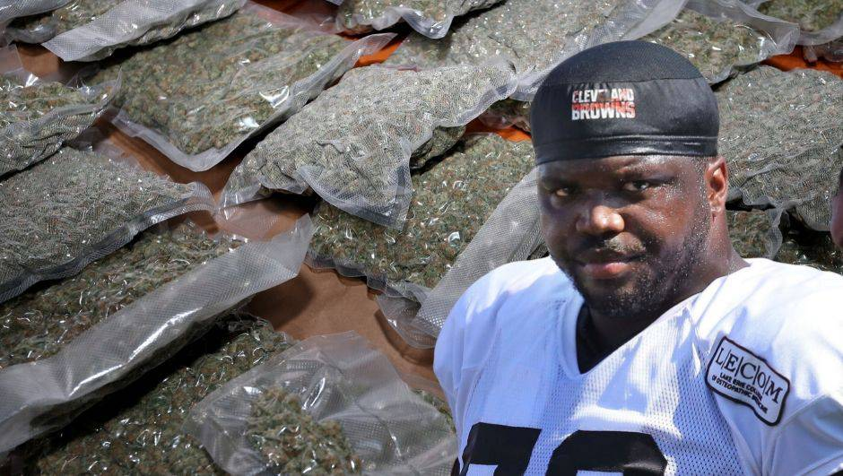 NFL zvijezda uhvaćena sa čak 70 kg marihuane i 23 tegle...