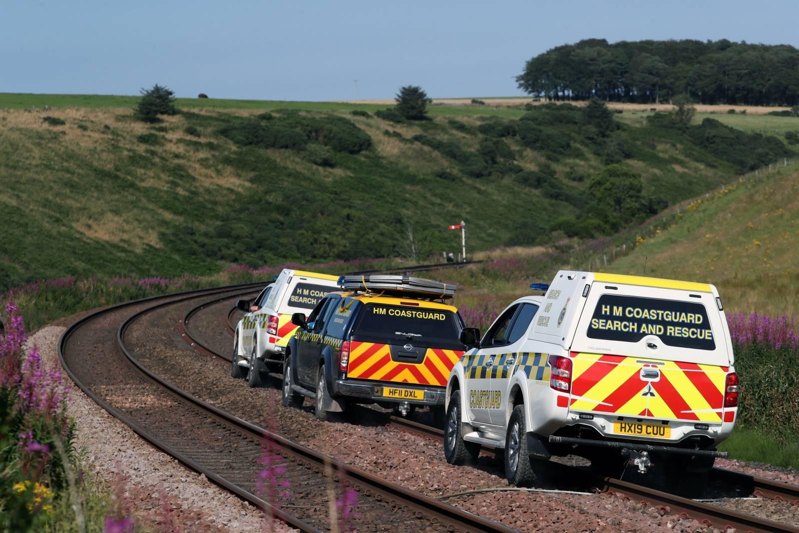 Passenger train derails near Stonehaven in Scotland