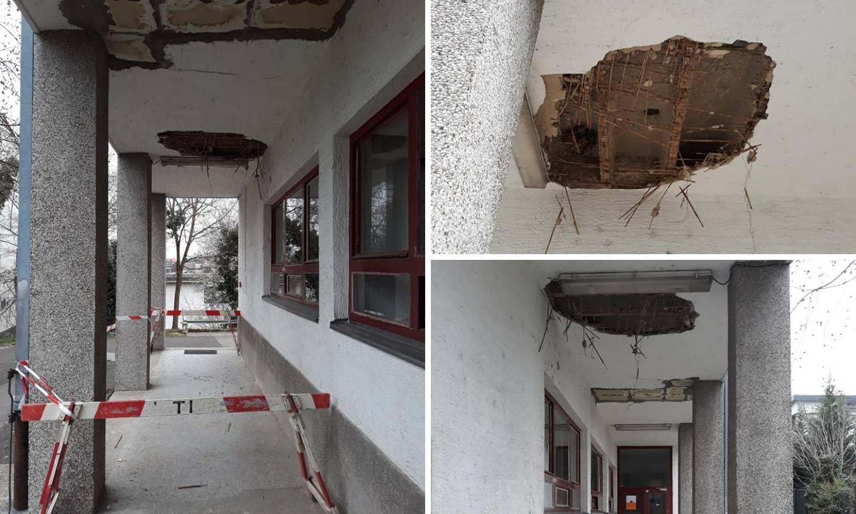 Raspad sistema: U studenskom domu Lašćina urušio se strop