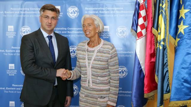 'Lagarde je zanimalo kako idu pripreme za uvođenje eura'