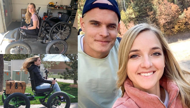 To je ljubav: Supruzi je napravio kolica u kojima može ići svugdje