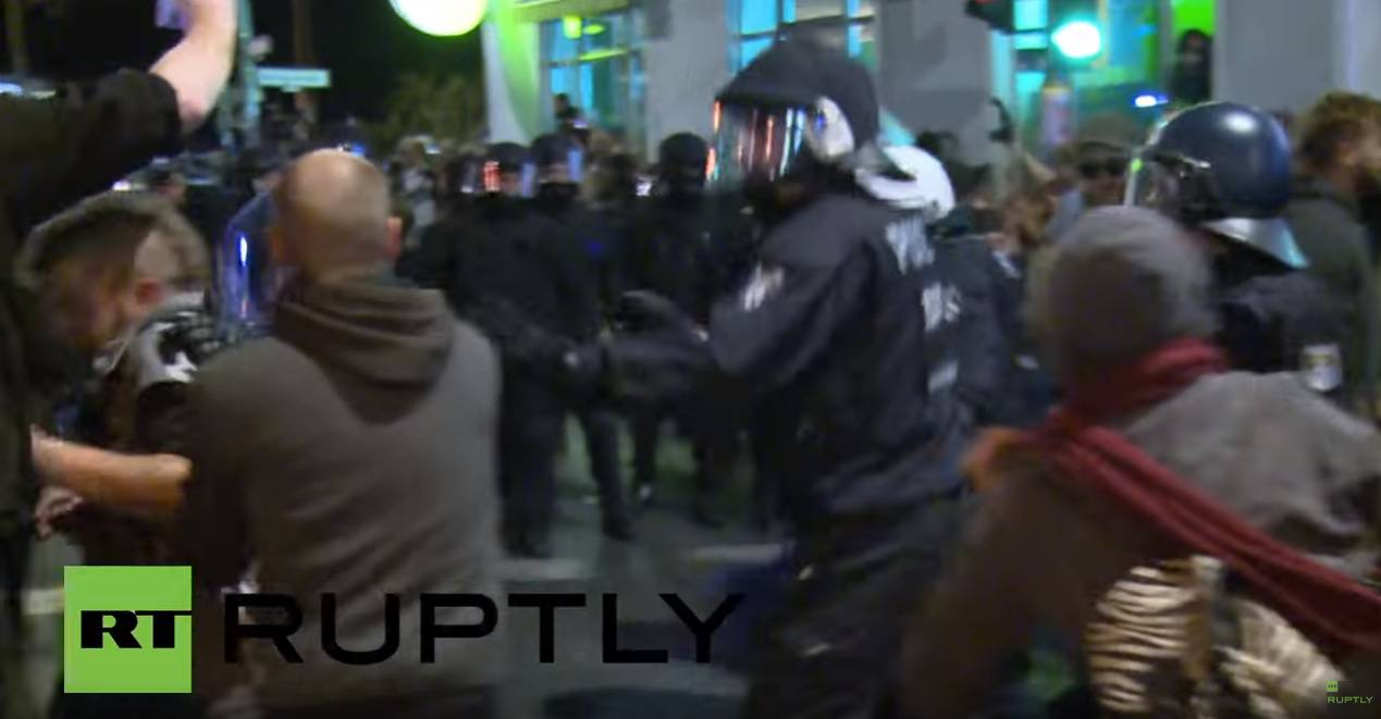 Krvavi prosvjed Berlinu: Više od 120 policajaca ozlijeđeno