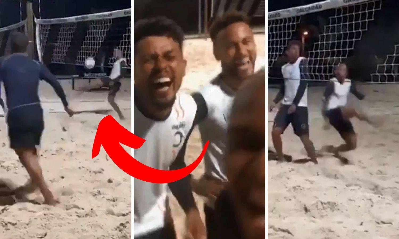Ozlijedio gležanj, PSG ga čeka, ali on bezbrižno igra - odbojku