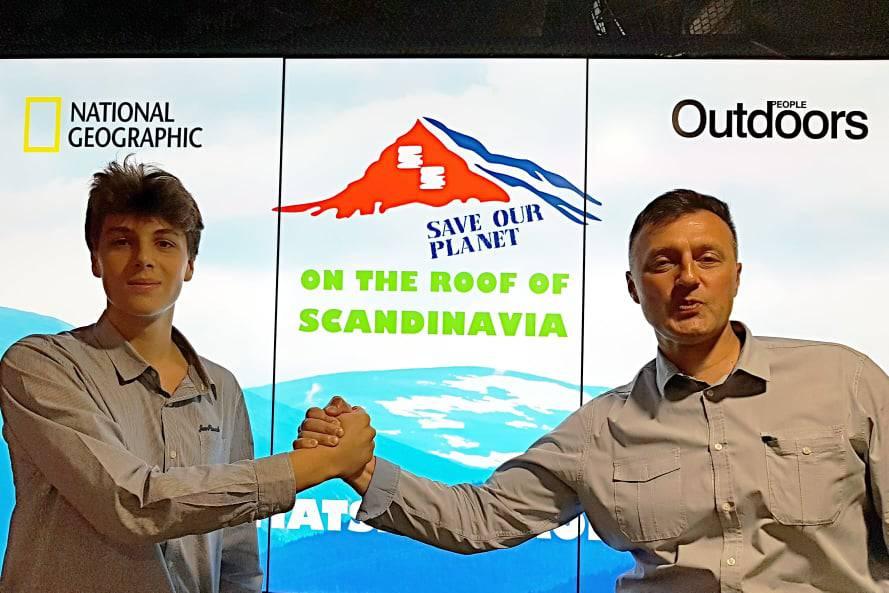 Hrvatska ekspedicija na krov Skandinavije
