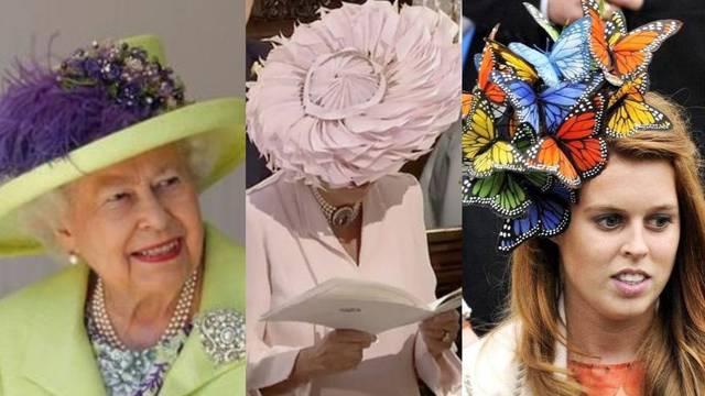 Pripadnice kraljevske obitelji na vjenčanja nose specijalne šešire