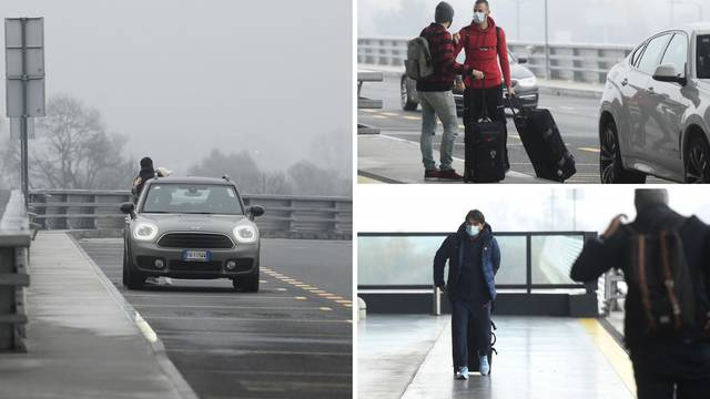 'Vatreni' se probili kroz maglu: Samo petorica stigla na avion