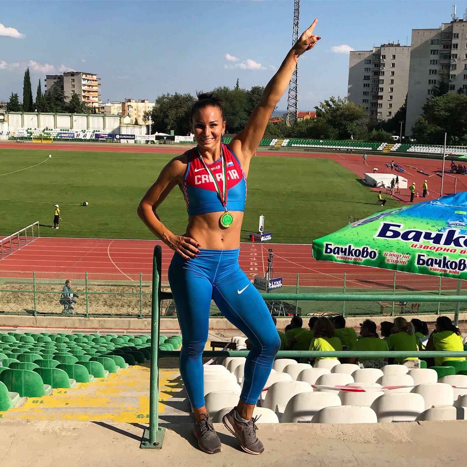 Andrea Ivančević ostala je bez finala na 100 m s preponama...