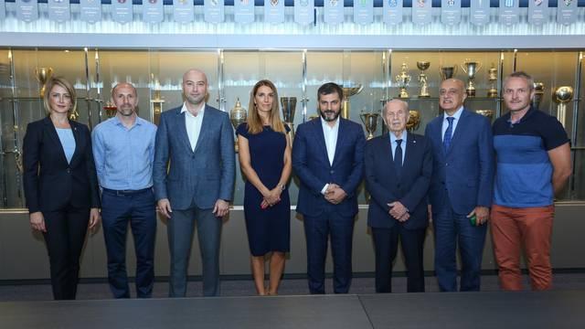 GNK Dinamo potpisao sporazum o suradnji na razini nogometnih škola s Azerbejdžanom