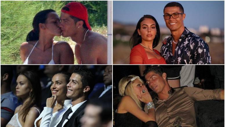 Sve Ronaldove ljubavi: Osvojio je Irinu, Georginu i Paris, a iza nogometaša su i ozbiljne afere
