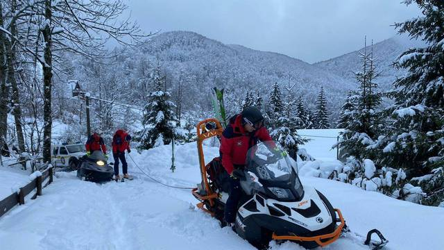 Grupu planinara zarobio snijeg, HGSS-ovci krenuli u evakuaciju