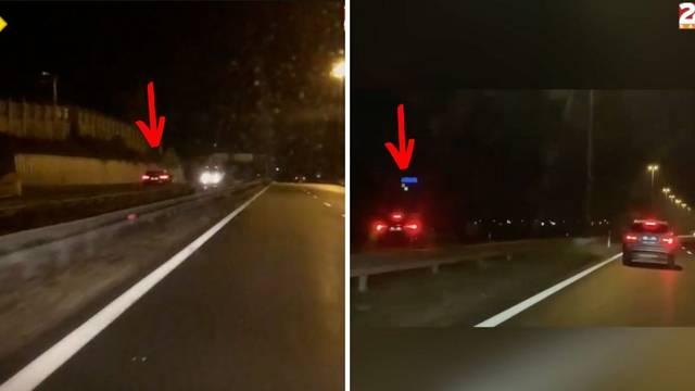 Ups! Na zagrebačkoj obilaznici vozio u suprotnom smjeru