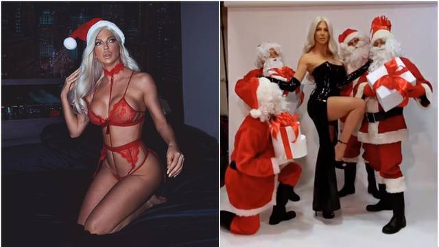 Ma kakav muž Duško, Karleuša se 'bacala' na Djeda Mrazove...
