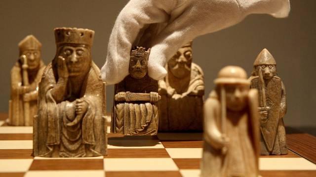 The Lewis Chessmen: Unmasked exhibition