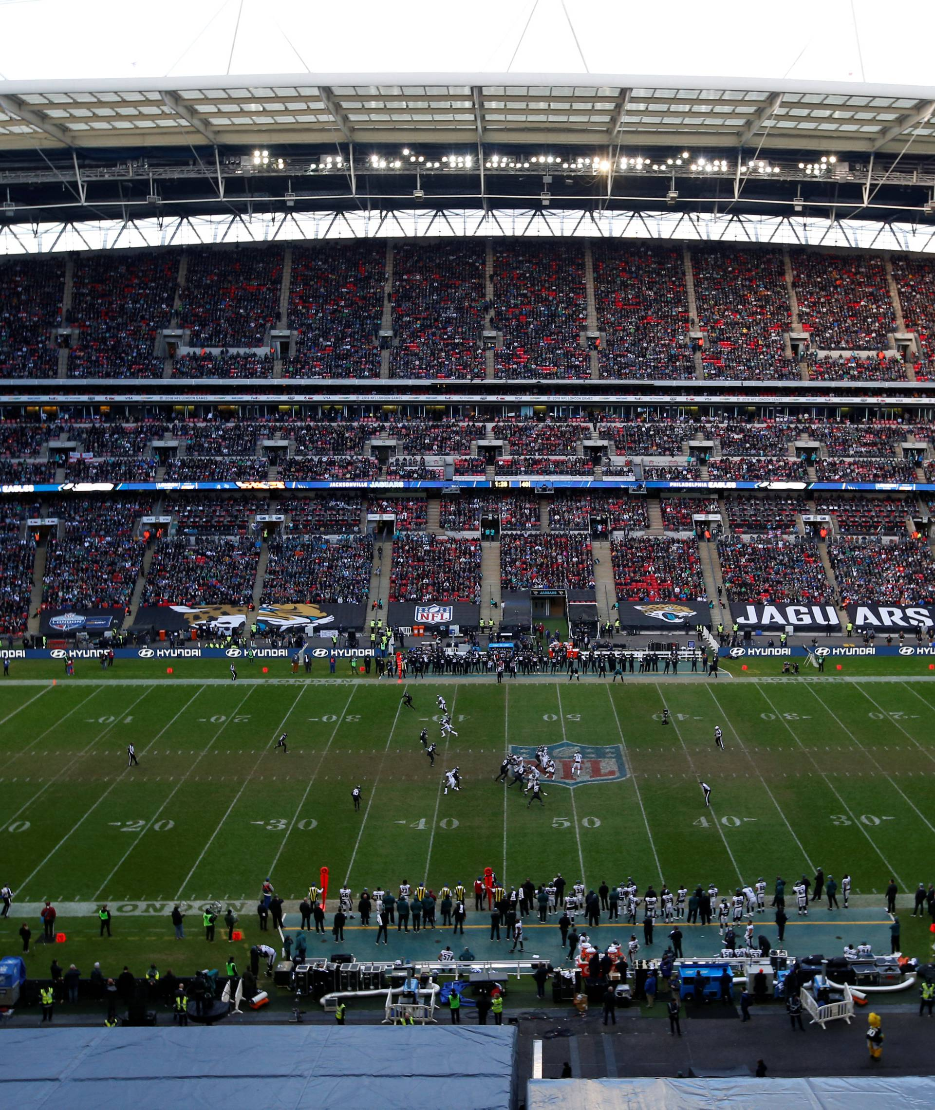 NFL Football - Philadelphia Eagles v Jacksonville Jaguars - NFL International Series