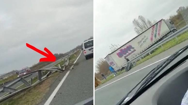 'Kamion je prošao kroz ogradu na A3, mogli smo svi poginuti'