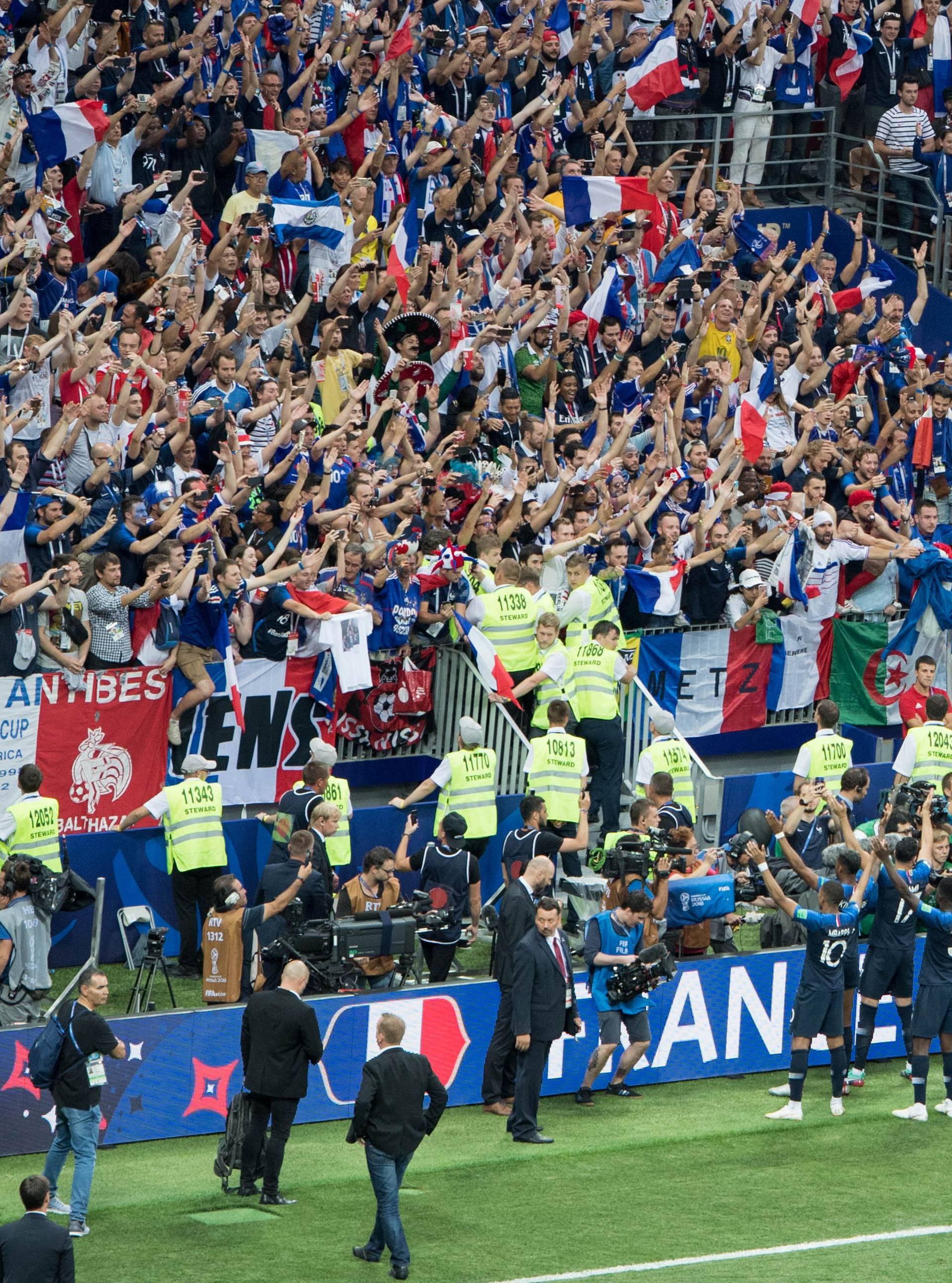 FIFA World Cup 2018 / Final / France - Croatia 4: 2.