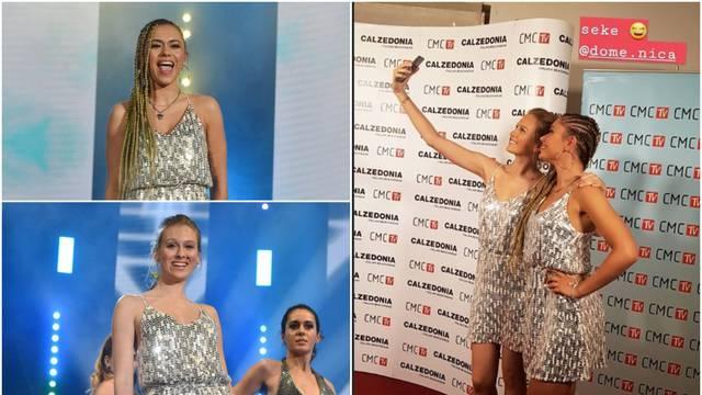 'Lude' za srebrnom haljinicom: Domenica i Meri se isto obukle