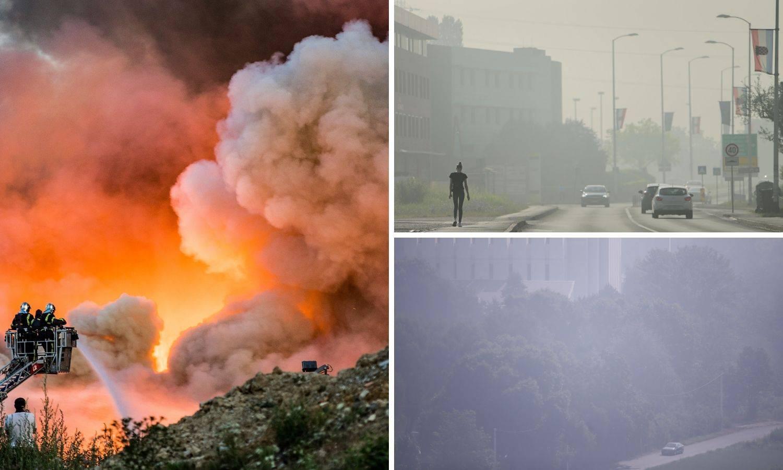 Zagrepčani još uvijek ne znaju koje su otrove udisali nakon lanjskog požara na Jakuševcu