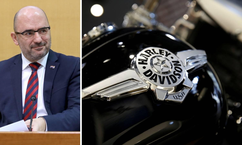 Brkić je kupio Harley-Davidson od 230.000 kn, digao i kredit...