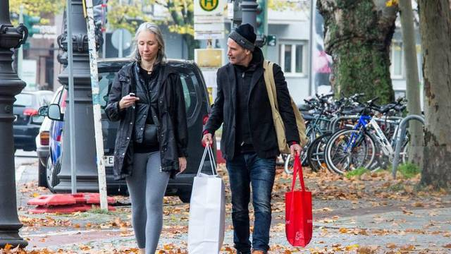 EXCLUSIVE: Keanu Reeves And Alexandra Grant Seen In Berlin Charlottenburg, Germany