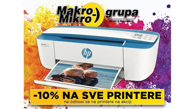 Ostvarite 10% popusta na sve printere u MakroMikru