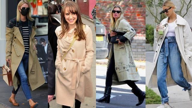 Kako slavne dame nose trench kaput: Uz traperice i haljine