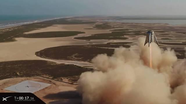 Priprema za Mars: Muskova nova raketa odradila prvi 'skok'