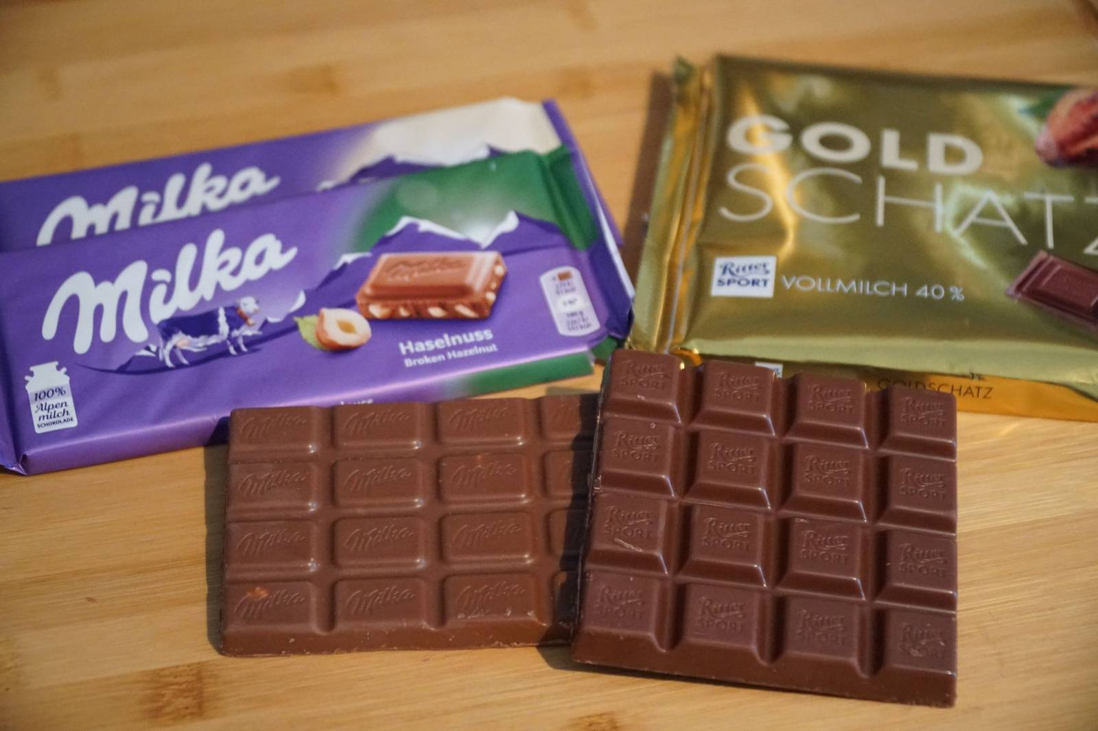 Milka disputes Ritter Sport before BGH Schokoladenquadrat
